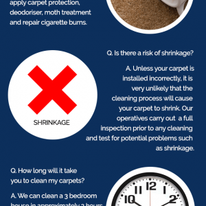 Carpet Cleaning FAQ – Infographic